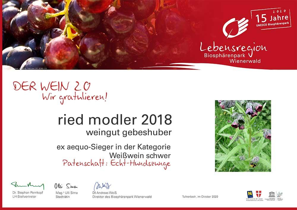 2020-Urkunde_Sieger_biosphärenpark_Gebeshuber