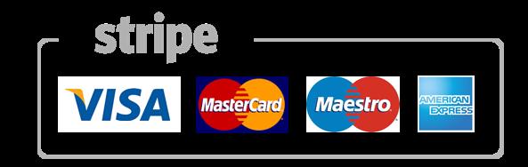Kreditkartenzahlung möglich!